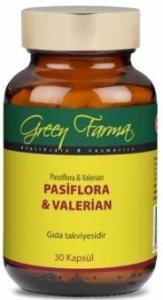 Green Farma Pasiflora Valerian