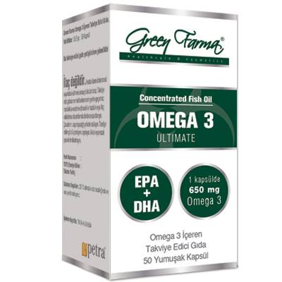 green farma omega 3 softgel 50