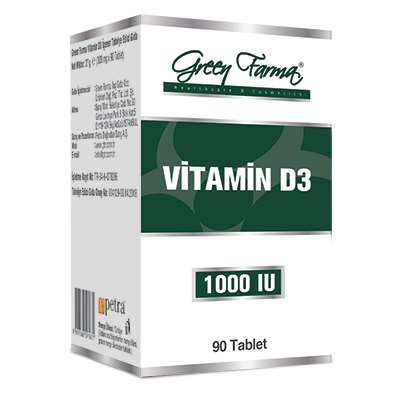 green farma vitamin d3